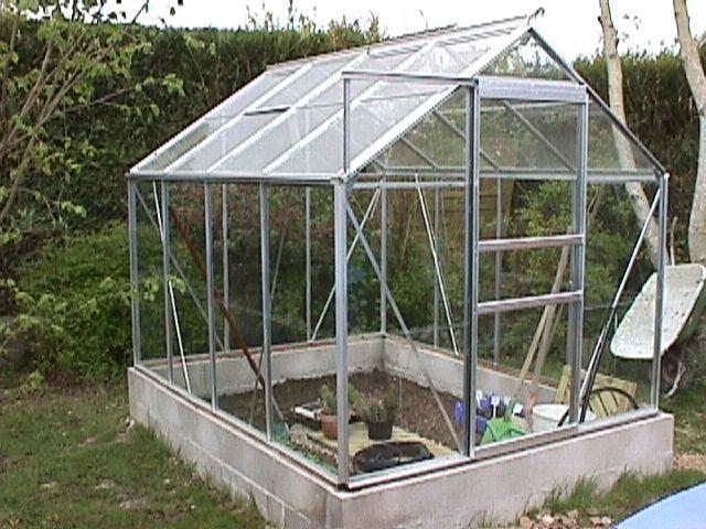 beautiful serres de jardin castorama #2: jolie serre façon kiosque